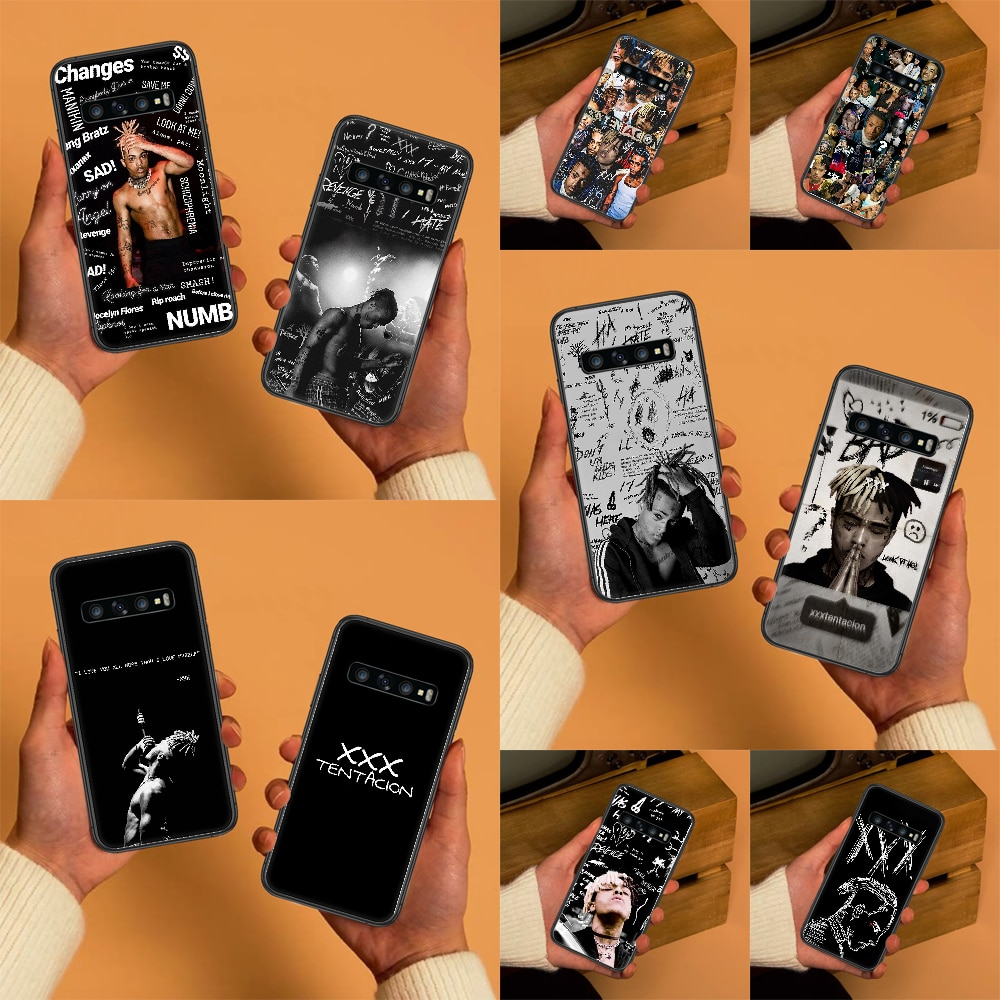 Triple X XXXTentacion XXX Rapper Phone case For Samsung Galaxy Note 4 8 9 10 20 S8 S9 S10 S10E S20 P