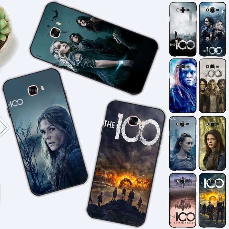 FHNBLJ-funda de teléfono The Hundred 100 para Samsung J4 plus, J2prime, J5,...