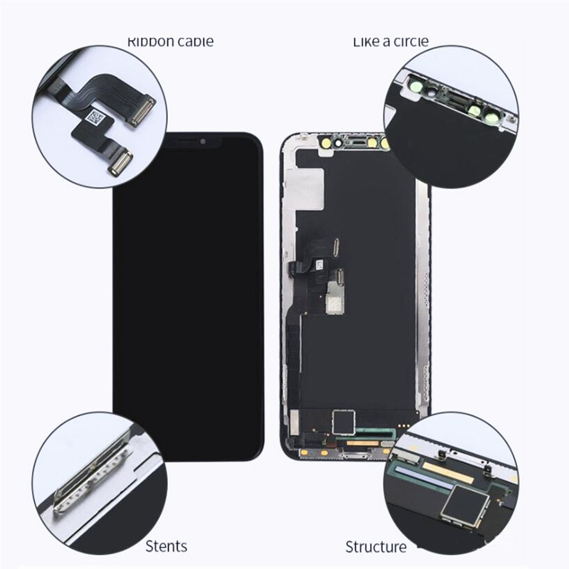 GW OLED LCD Pantalla Display For iphoneX XS XR XSMAX OLED Screen LCD Display Touch Screen Digitizer Assembly For iPhone 11 Pro enlarge