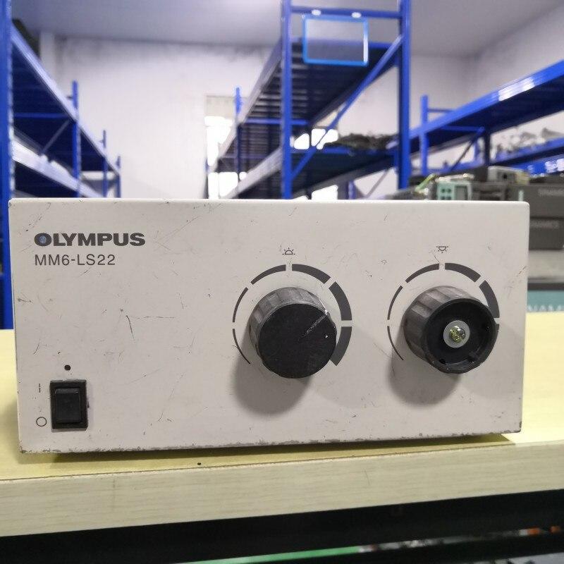 Caja de fuente de luz para microscopio Olympus MM6-LS22 (garantía de calidad y precio negociable)