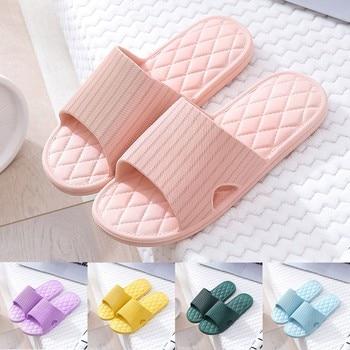 Женские домашние шлепанцы, летние тапки для влюбленных, для ванной комнаты, пляжная обувь для дома, # L35