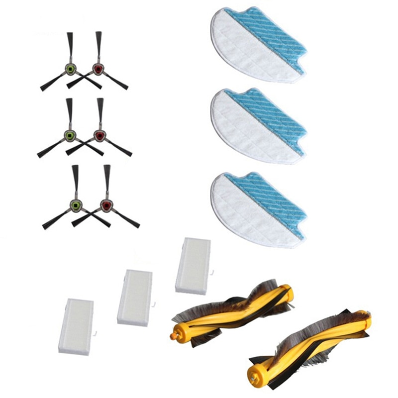 14Pcs Vacuum Cleaner Parts Accessories Vacuum Cleaner for Ecovacs Deebot R95 R96 R97 DR95-KTA Home Garden Tool Supplies