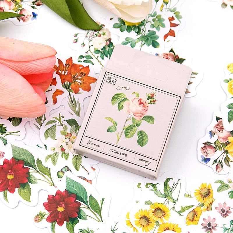 45-pz-pacco-fiori-vintage-lettera-adesivi-natalizi-fai-da-te-scrapbooking-diario-etichetta-adesivi-cancelleria-per-album-craft-planner