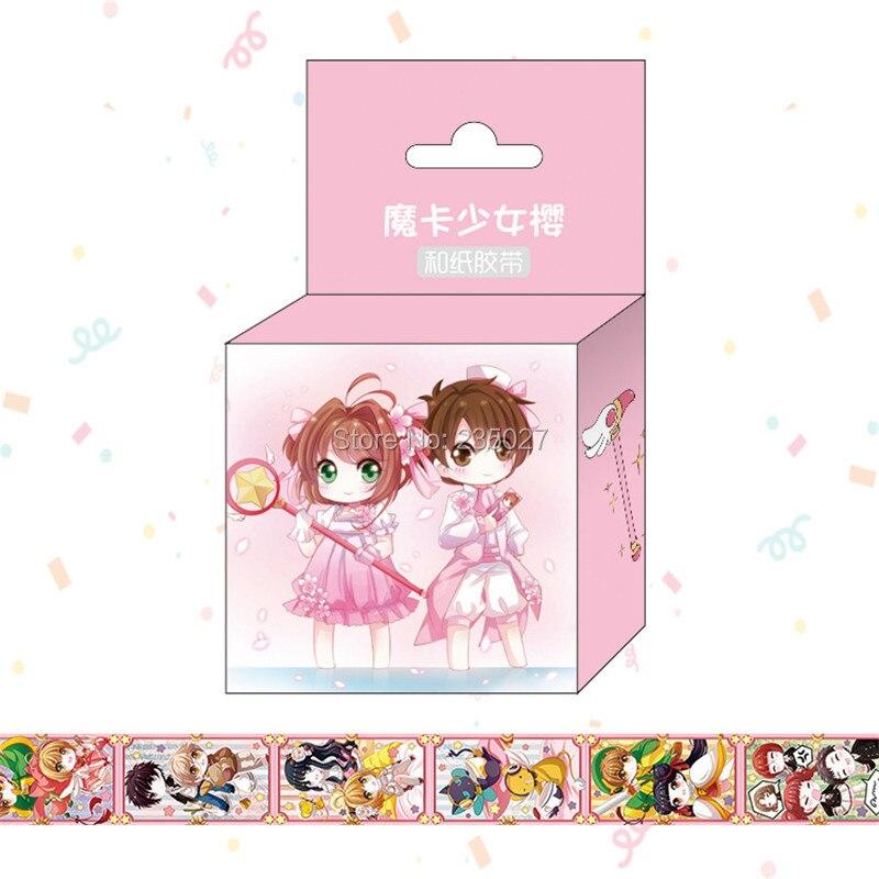 30 caixas lote fita adesiva japonesa de papel de washi sakura e sakura kinomoto
