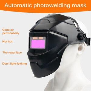 Size Adjustment Welding Helmet Welding Mask Helmet Hood Solar Manufacturing Welder Glasses Eye Shield Protect high quality new