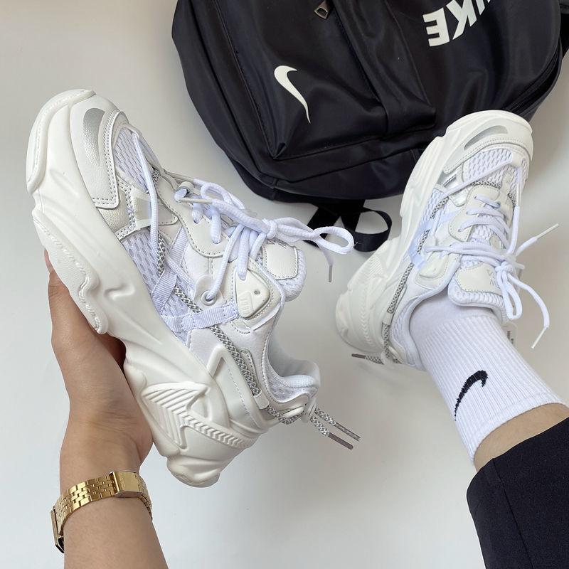 منصة أحذية رياضية نسائية أحذية رياضية لربيع وصيف تشغيل سيدة الموضة تنفس المدربين عادية تنس كرة السلة الأحذية