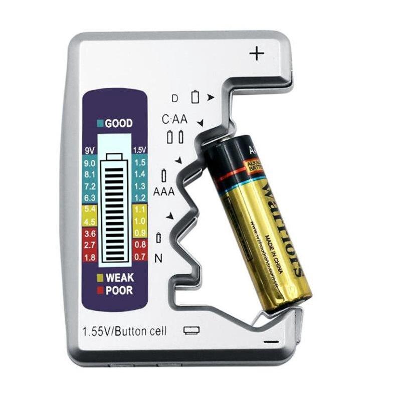 Digital probador de la batería capacidad de la batería para Detector de C/D/N/AA/AAA 9V 9V 6F22 pilas/pila de botón de 1,55 V
