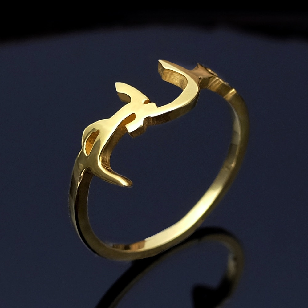 Custom Arabic Name Ring,Personalized Arabic Ring,Name Ring,Arabic Ring,Arabic Jewelry,Gift for Her недорого