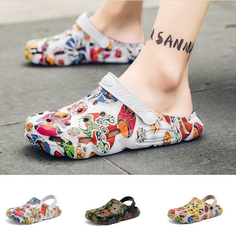 Men Sandals Summer Flip Flops Slipper For Men Casual Shoes Beach Slipper Facebook Sandals Garden Clo