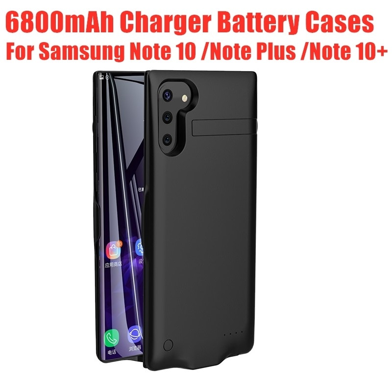 Charging Case Power Case Battery Charger Case For Samsung Note 10 Plus 10+ Battery Case For Samsung Galaxy Note10Plus Power Bank