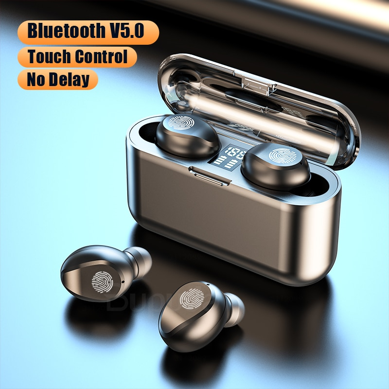 mcgesin i99 tws wireless earphones bluetooth headphones with led display headset music earbud support wireless charging with mic TWS Bluetooth Earphones For Phone Touch Control LED Power Display Wireless Headphones Earbuds with Mic Sports Waterproof Headset