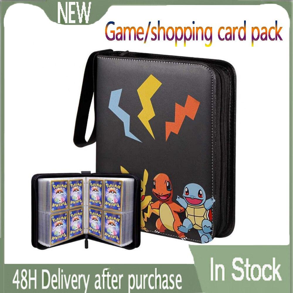 Новый альбом Pokemon Box может вместить 200-400 шт. держатель карт Gx с надписью «Pokemon» для карт «Pokemon»
