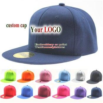 1 шт. Кепка с логотипом хип-хоп, 100% хлопок, Мужская и Женская бейсбольная кепка, сетчатая Регулируемая Кепка Для Взрослых Детей, Кепка snapback