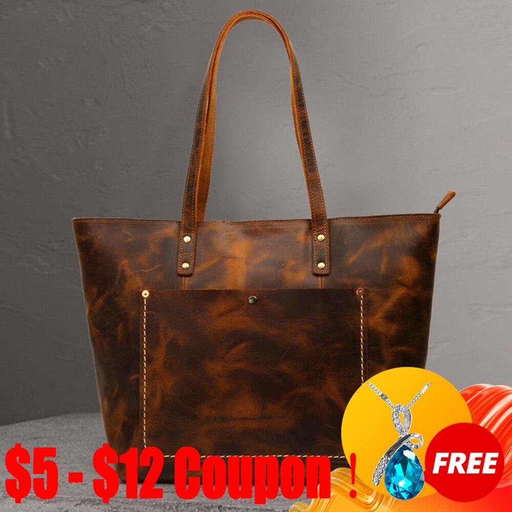 CGA-حقيبة يد جلدية نسائية ، حقيبة كتف ذات سعة كبيرة ، حقيبة حمل ، 2021