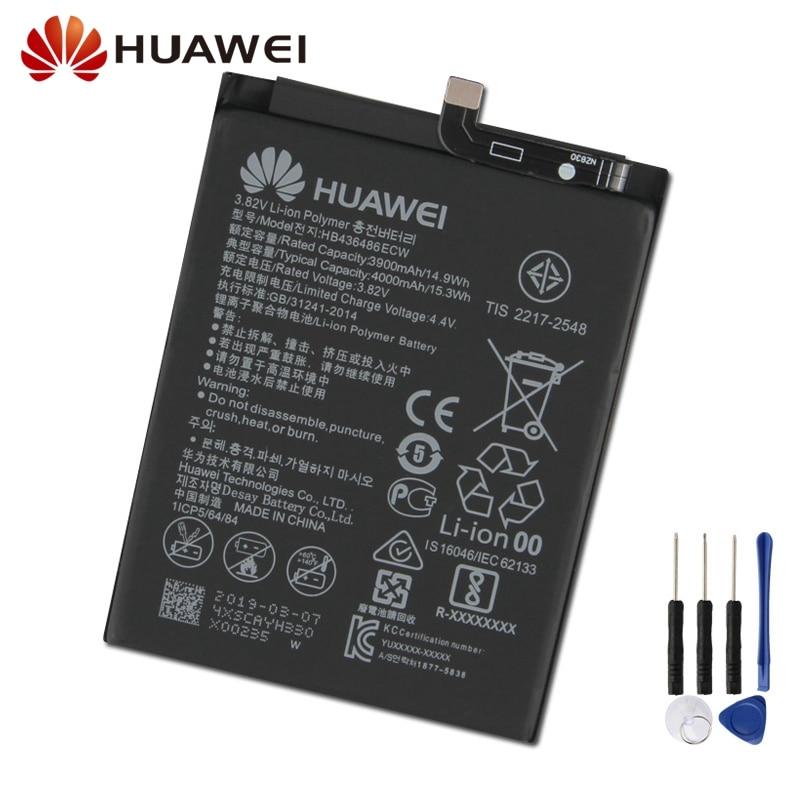 Оригинальная запасная батарея для Huawei Mate 10 Mate X ALP-AL00 HB436486ECW Mate20 Mate 20 Mate10 pro Mate RS P20pro Nova5i
