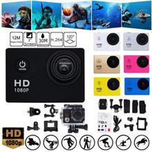 Action Camera HD Underwater Waterproof Helmet Video Recording Cameras Sport Cam High Definition Scre