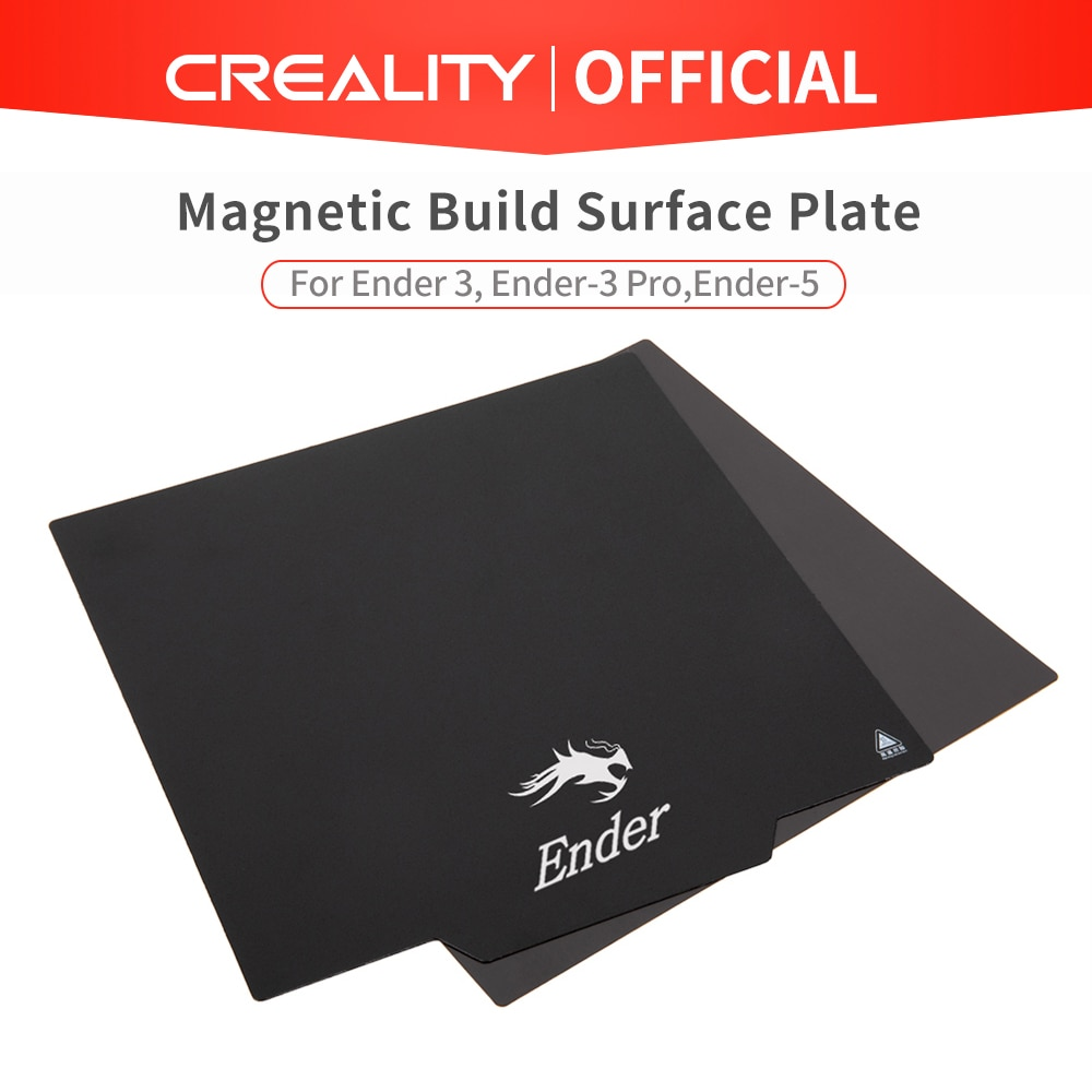 aliexpress.com - CREALITY 3D Flexible Magnetic Build Surface Plate Pads Ender-3/Ender-3 Pro/Ender-5/CR-10S Heated Bed parts for MK2 MK3 Hot bed