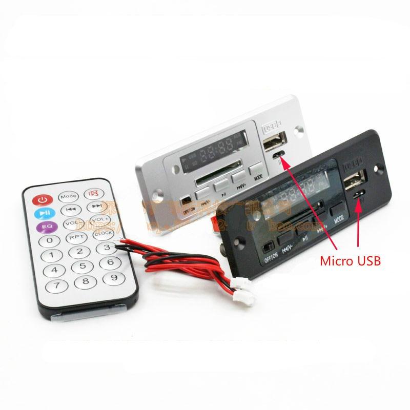 SOTAMIA Bluetooth 5.0 carte amplificateur 3W * 2 amplificateur stéréo WAV WMA MP3 carte décodeur Audio FM SD U disque décodage DC3.7-5V