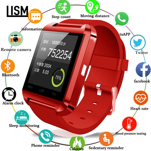 Relógio inteligente bluetooth masculino feminino crianças relógio para iphone ios android telefone inteligente usar relógio wearable dispositivo smartwach pk gt08 dz09