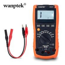 Test de continuité de compteur dinductance de poche professionnel numérique avec sondes de testeur pour multimètre avec WP-A623 de support