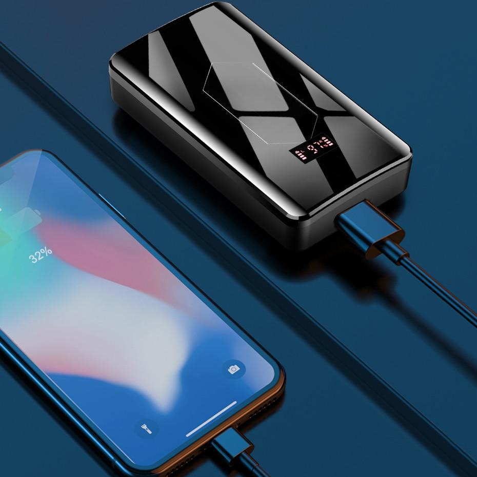 Y8 Bluetooth 5.1 Earphones 10000mAh Charging Box Wireless Headphones 9D Stereo Sports Waterproof Earbuds Headsets With Dual Mic enlarge