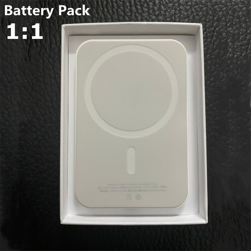 5000mAh Power Bank Magnetic Wireless Charger For Magsafe Charging For iphone12 Mini 12pro Max Extern