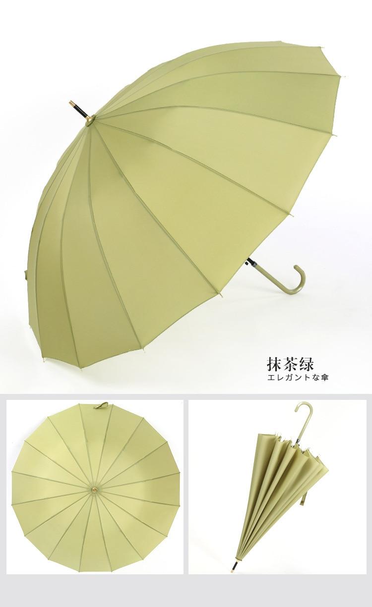 Japanese Large Umbrella Men Windproof Business Travel Portable Outdoor Big Golf Umbrella Vintage Waterproof Home Umbrella DA60YS enlarge