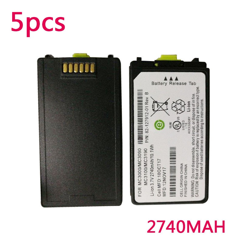 Nueva batería de 2740MAH para Motorola Symbol MC3090 MC3000 3100 3190R escáner