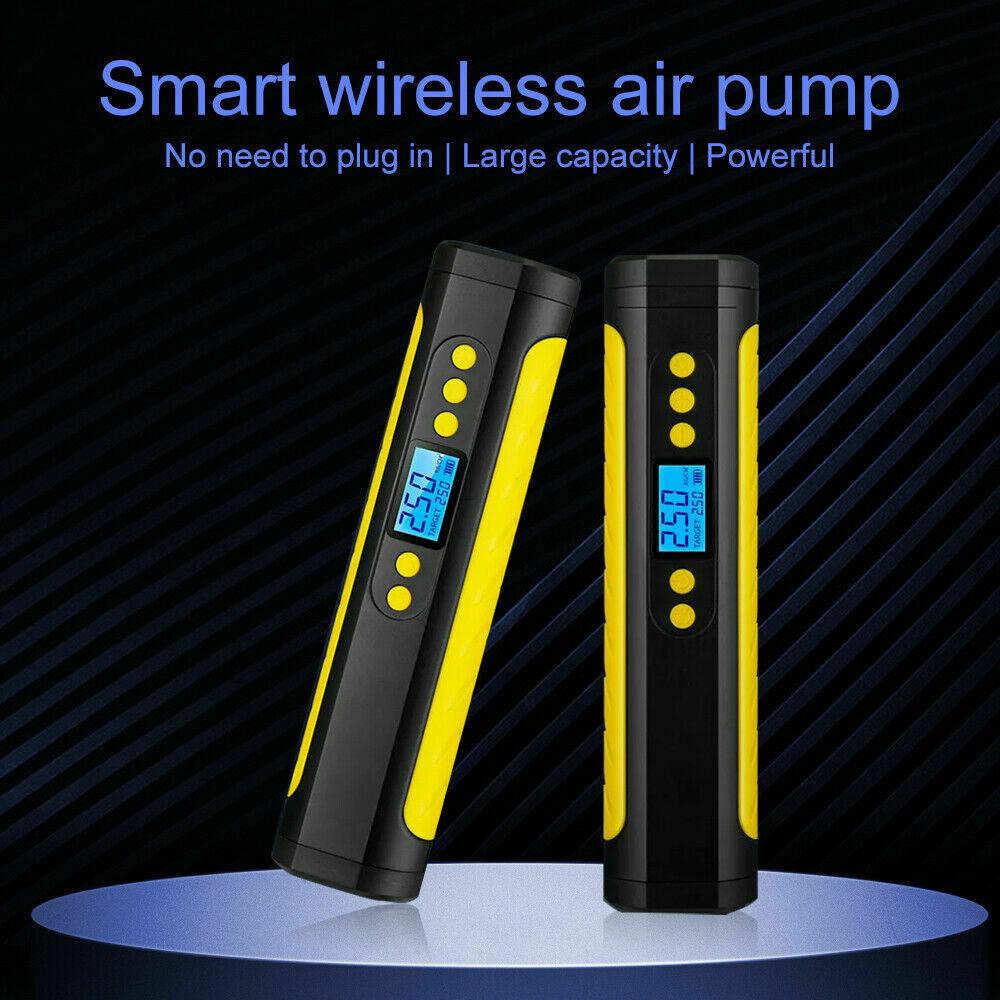 نافخة الإطارات الصغيرة الكهربائية مضخة إطار ضاغط هواء محمول للسيارة/الدراجة/الكرة