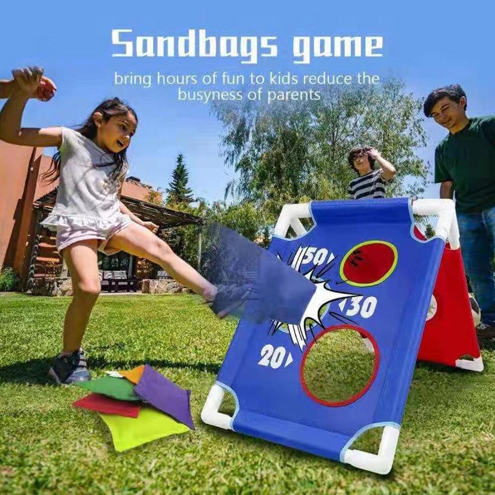 Забавные игровые мешки для игрушек, мешки для игрушек, безопасные мешки для бросания песка, мешки для взрослых, Детские мешки для игр на откр...