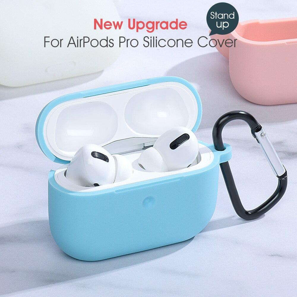 Coque en Silicone souple liquide pour Airpods Pro étui sans fil Bluetooth étui pour airpod 3 housse Air Pods 3