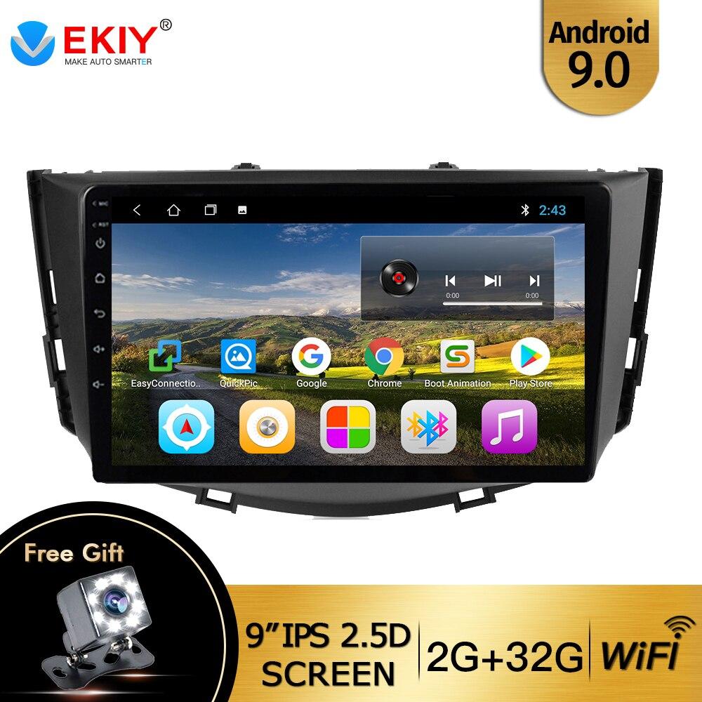 """Radio de coche EKIY 9 """"IPS 2din para LIFAN X60 2012 2013-2016 Wifi grabadora de cinta estéreo reproductor de vídeo Multimedia soporte volante"""