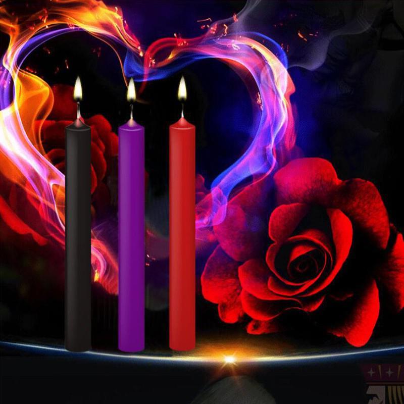 3 шт./компл. низкотемпературная свеча БДСМ капельные свечи ограничители для кровати для пар секс-воск эротическая игрушка для взрослых