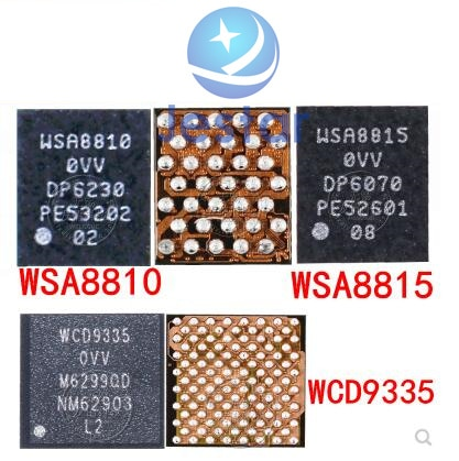 5 uds WSA8815 WSA8810 WCD9335 para Xiami 5 5S más G5 de IC de Audio amplificador de sonido Chip