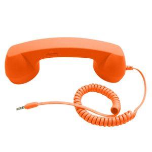 Universal Retro Telephone Handset Radiation-proof Handset Receivers Headphones with Volumn Adjustment for Phone Call