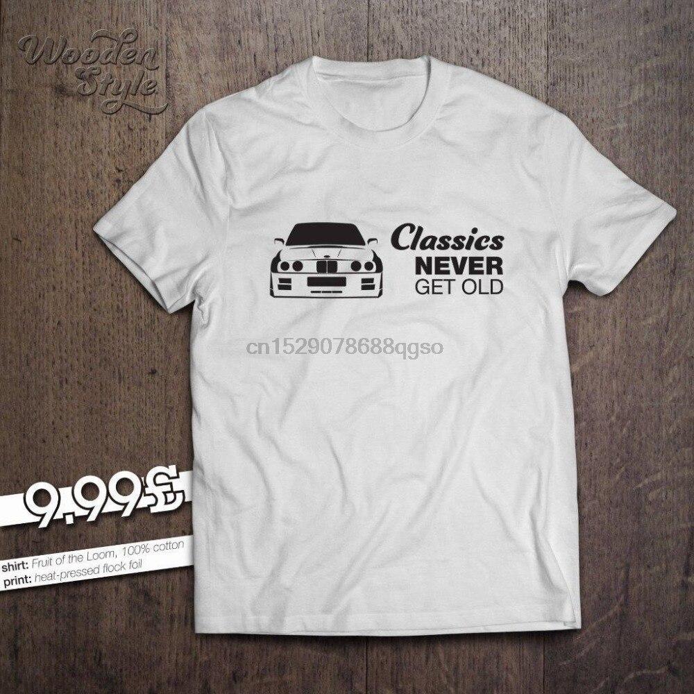 2019 de moda gran oferta Alemania coche clásico E30 clásicos nunca viejo T camisa 316, 318, 320, 323, 324, 325 M3 T camisa camiseta