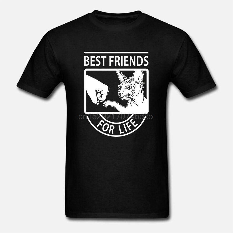 Gato Sphynx-mejores amigos para toda la vida camiseta