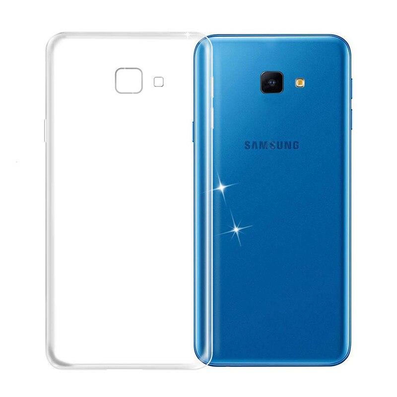 Funda completa de TPU suave para Samsung Galaxy J4 Plus Core Prime 2018 carcasa trasera de silicona transparente J4Plus J4Core J4Prime J42018