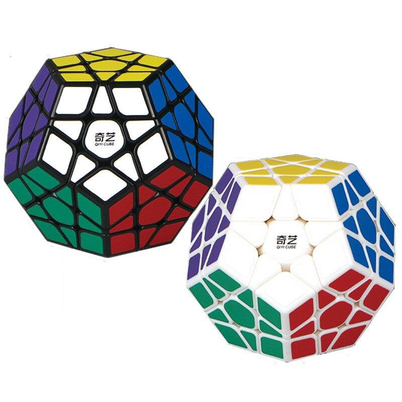 3rd order megaminx magic fidget cube 12 lados stickerless dodecaedro velocidade cubos cérebro teaser twist puzzle brinquedos educativos