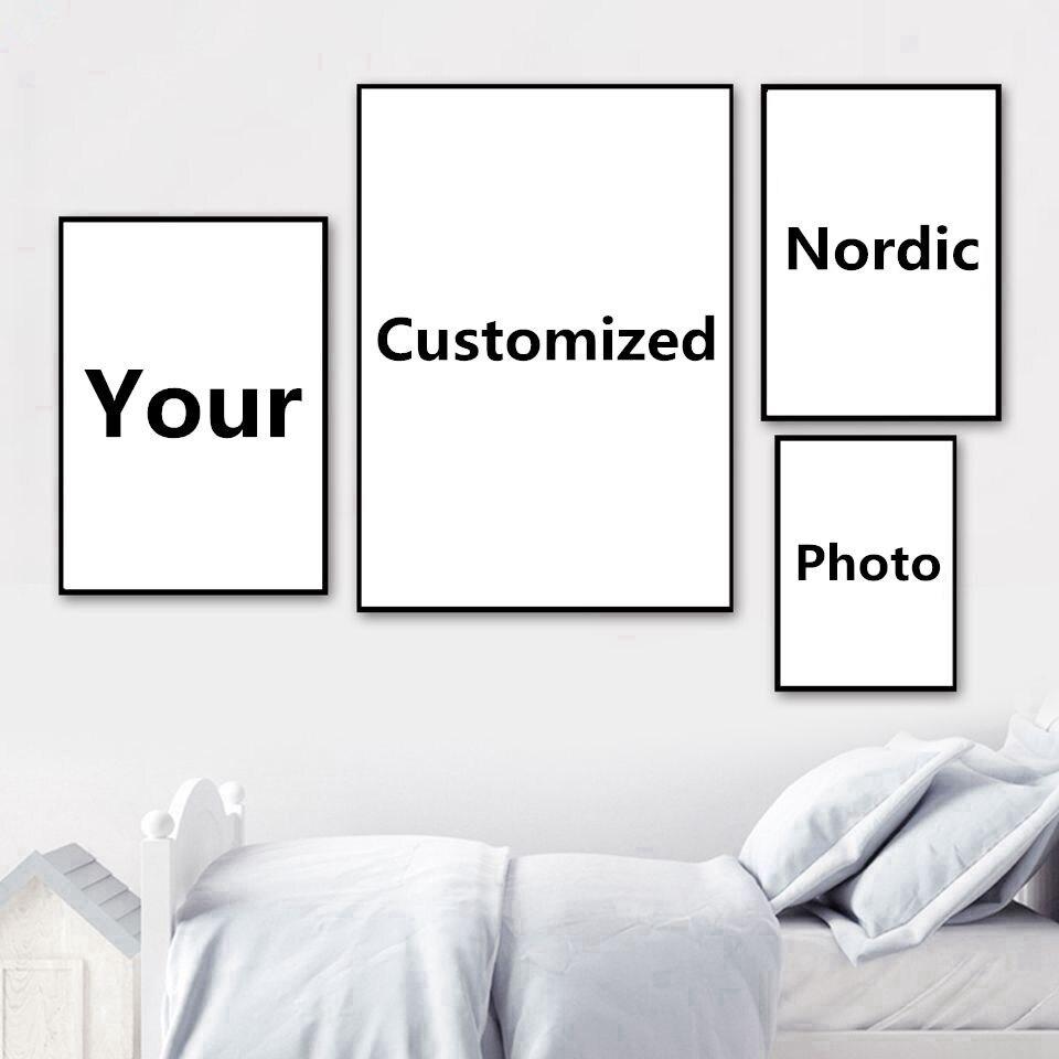 Модульная картина Hd с вашей фотографией, фото на заказ, для украшения дома, постер на холсте, Настенная картина для гостиной