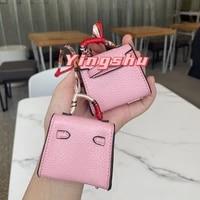 new arrival handmade trendy bag ornaments car key chain car hanger mini tiny handmade backpack school bag handbag bag pendant