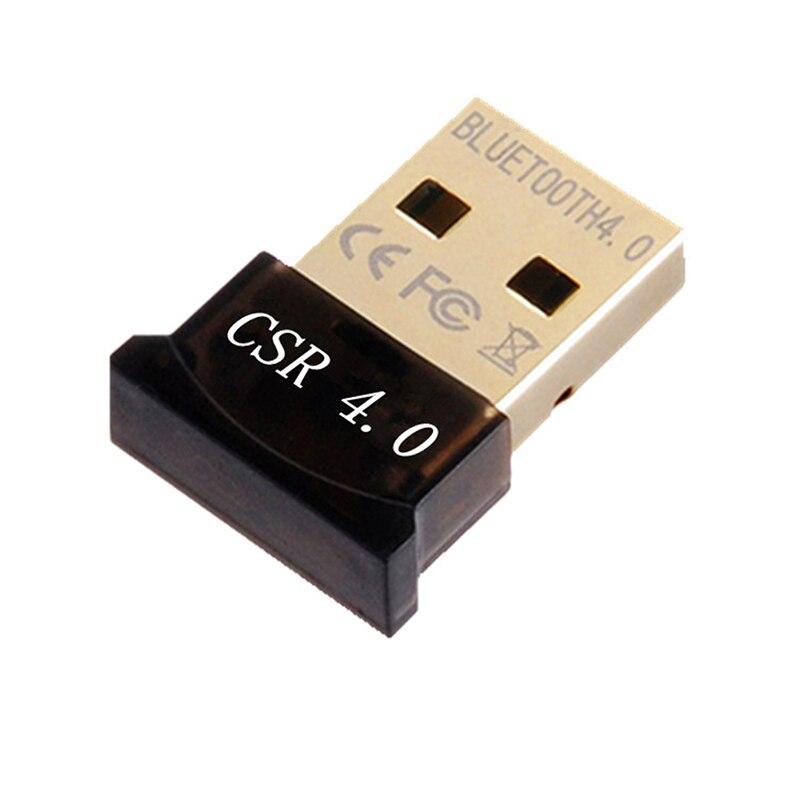 Adaptador USB inalámbrico Bluetooth 4,0, Dongle Bluetooth, receptor de música, transmisor Bluetooth...