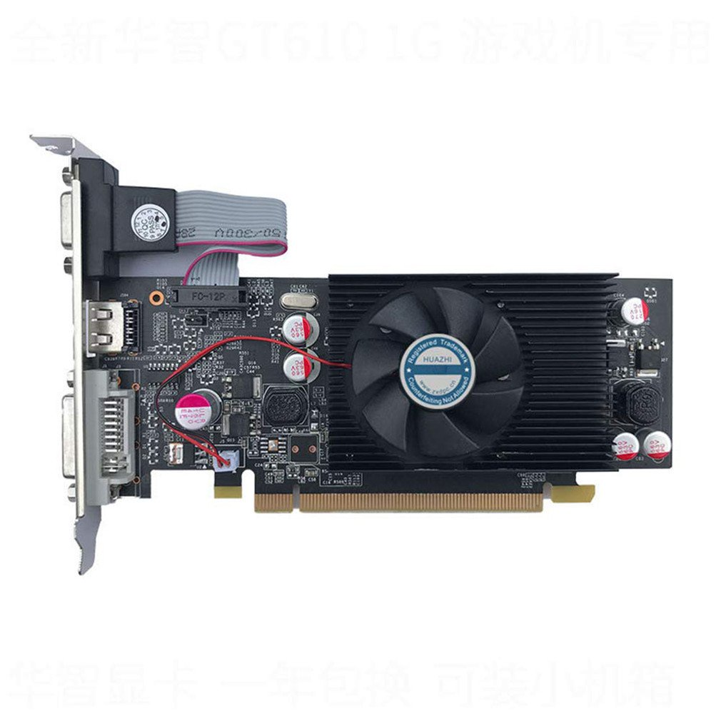 Graphics Cards  For PC And LP Case HD6450 1GB DDR3 Graphic Video Card High-end Game Graphics Card GT610