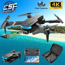 2021 NEW LS878 Drone 4K HD Dual Camera Fpv Wifi Altitude Hold Mode Foldable Quadcopter Helicopter RC