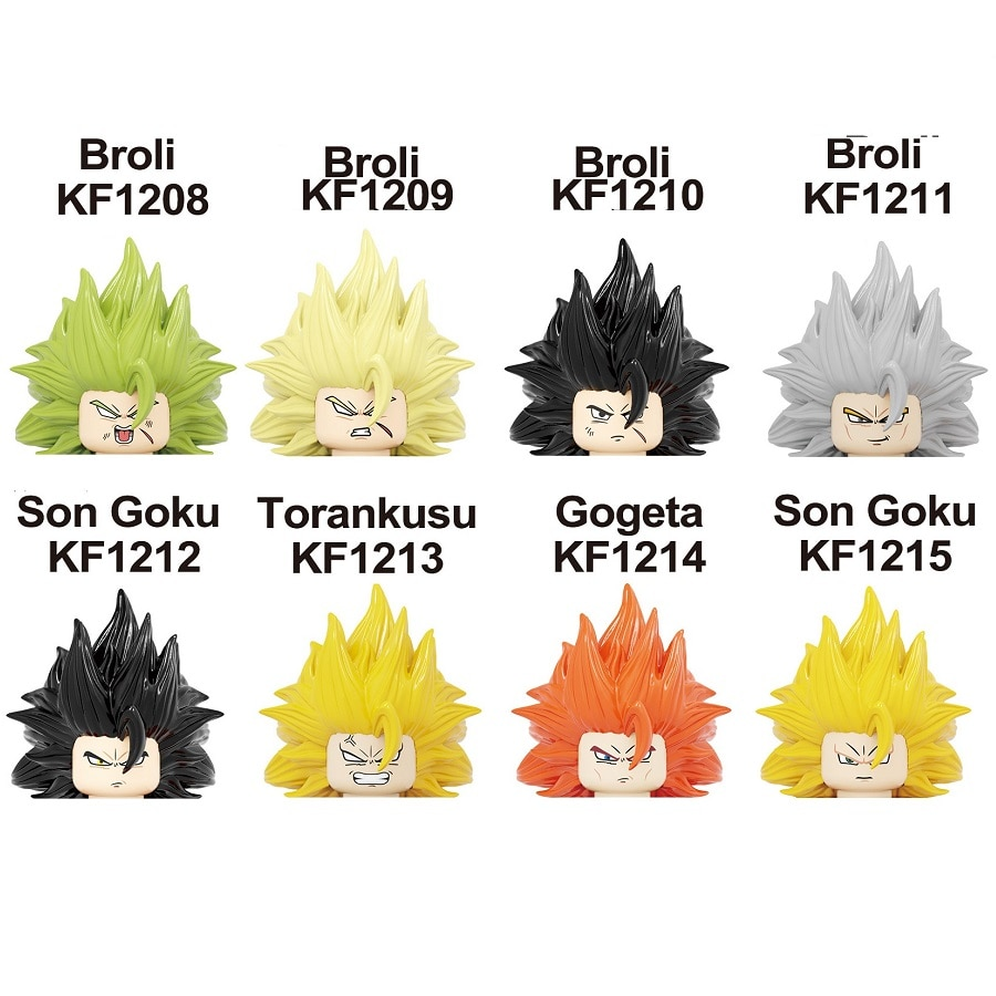 Мини Экшн-фигурки из м/ф «Драконий жемчуг Z SSJ Super Saiyan 4 Son Goku Broli Torankusu Gogeta»