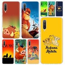 Hakuna Matata Lion Cochon Simba Téléphone Housse Pour Xiaomi Redmi Note 9S 8 8T 9 7 7A 6 6A 5 5A 4X S2 K20 K30 KM 9 8 Lite CC9 F1 Pr