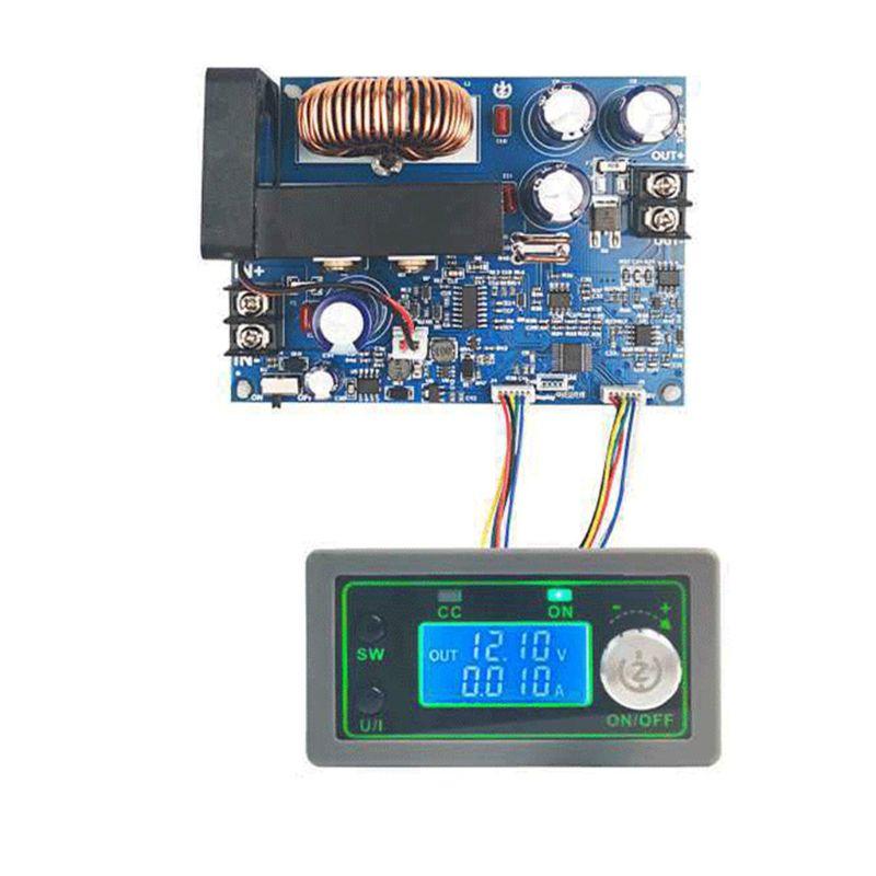 وحدة إمداد طاقة قابلة للبرمجة CNC 50 فولت 12 أمبير 600 واط ، الجهد المستمر ، شاشة LCD رقمية ، وحدة طاقة قابلة للتعديل