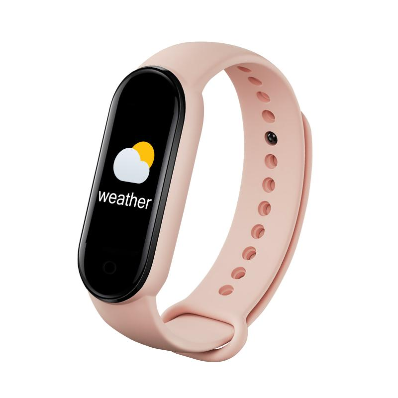 M5 Smart Watch Heart Rate Blood Pressure Sleep Monitor Pedometer Bluetooth Connection For iOS Android Smart Band For Men Women
