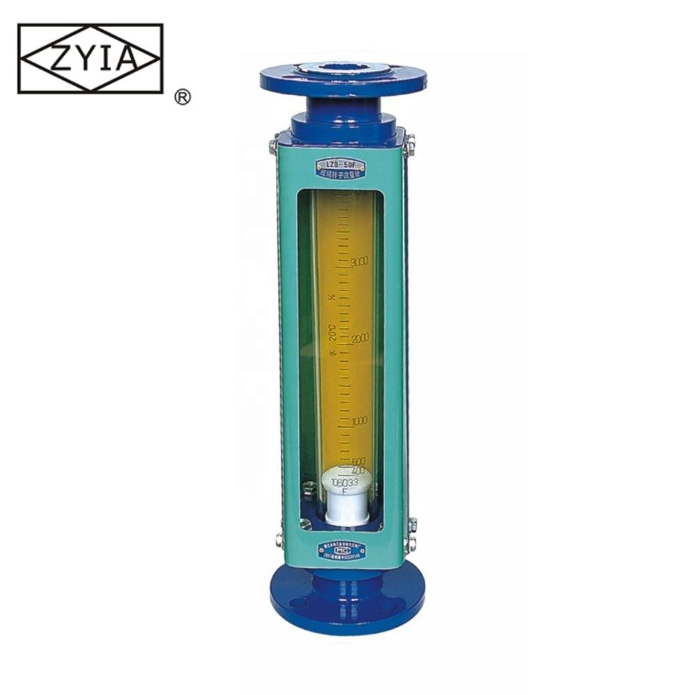 Caudalímetro químico de ácido fuerte de tubo de vidrio/rotámetro/caudalímetro diésel