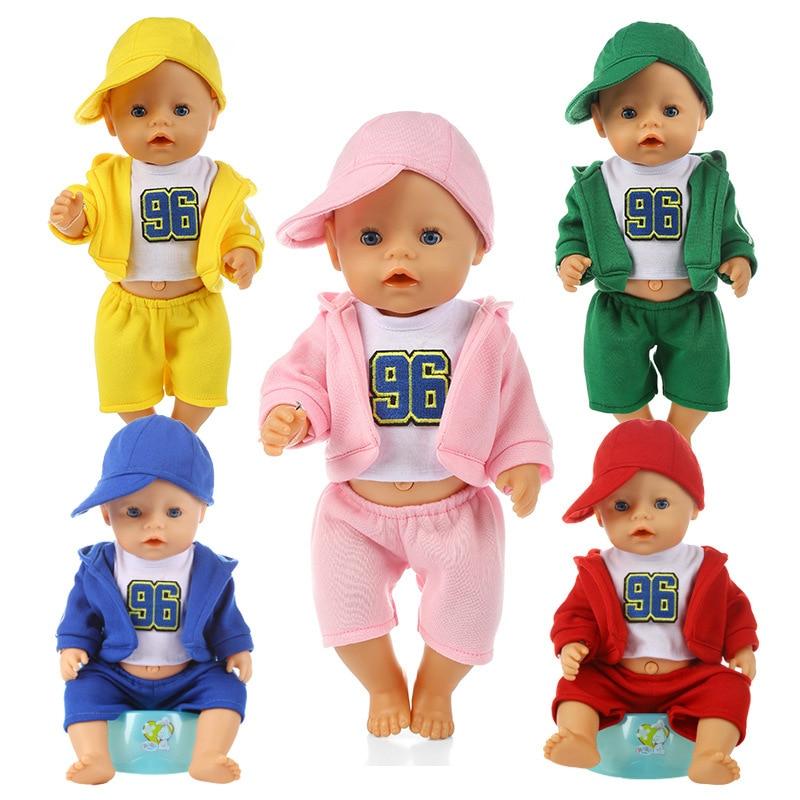 Фото - NEW Doll Clothes Accessories Baby Born 43cm Fit 18Inch American Dolls Sunshine Sportswear Fashion Christmas Gift Girl's Toy самокаты велосипеды ролики авто sunshine baby